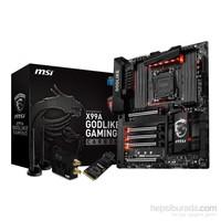 MSI X99A GODLIKE GAMING CARBON Intel X99 3400MHz(O.C.) DDR4 Soket 2011-3 ATX Anakart