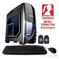 Quadro XGAME SGA03TR-54S403 Core i3 540 3.06GHz 4GB 120GB SSD Masaüstü Bilgisayar