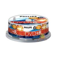 Philips 16X 4.7GB 120DK 25 'li Cakebox DVD+R DR4S6B25F-00