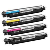 Hp Laserjet Pro Cp1025nw Siyah Renkli Toner Retech Muadil Yazıcı Kartuş