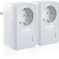 TP-LINK TL-PA4010PKIT 500Mbps Priz Girişli Tak-Kullan %85 Enerji Tasarruflu 300 Metre Mesafeli Powerline Adaptör
