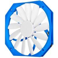 SilverStone FW141 12cm Yuva için 13mm Ultra İnce 14cm Mavi-Beyaz Kasa Fanı (SST-FW141)