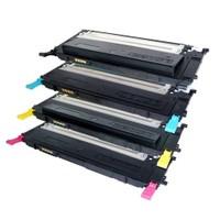 Neon Samsung Clx-3302 Kırmızı Toner Muadil Yazıcı Kartuş
