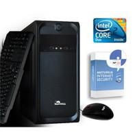 CaseBull PCE72322OB Intel Core 2 Duo E7200 2.53GHz 2GB 320GB Masaüstü Bilgisayar + Antivirüs Hediye