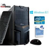 CaseBull PCI514OBW8S Intel Core i5 460M 2.53GHz / 2.8GHz 4GB 1TB Masaüstü Bilgisayar + Antivirüs Hediye