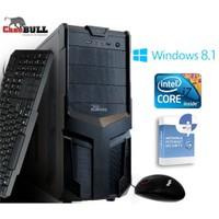 CaseBull PCI7181VGW8S Intel Core i7 640LM 2.13GHz / 2.93GHz 8GB 1TB Masaüstü Bilgisayar + Antivirüs