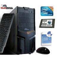 CaseBull PCI7120181VG Intel Core i7 640LM 2.13GHz / 2.93GHz 8GB 1TB + 120GB SSD Masaüstü Bilgisayar + Antivirüs Hediyeli