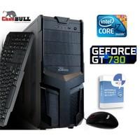 CaseBull PCI7282GT730VGA Intel Core i7 640LM 2.13GHz / 2.93GHz 8GB 2TB Masaüstü Bilgisayar + Antivirüs Hediyeli