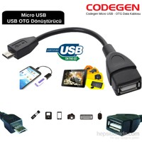 Codegen Micro USB - OTG Data Kablosu