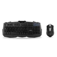 Everest Km-810 Siyah Usb 3 Farklı Aydınlatmalı Oyuncu Q Multimedia Klavye + Mouse Set