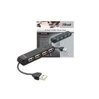 Trust HU-4440p 4 Port USB2 Mini Hub 14591