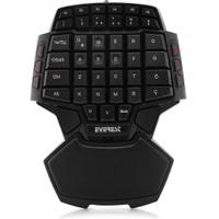 Everest DLK-T9S Siyah/kırmızı USB Multi media Oyun Q Klavye (5497)