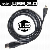 Dark Mini USB 2.0 1.5m Şarj ve Data Kablosu (DK-CB-USB2MINIL150)