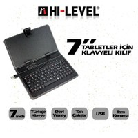 """Hi-Level HLV-KC702 7"""" Klavyeli Tablet Kılıfı"""