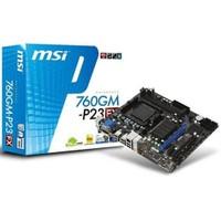 MSI 760GM-P23 (FX) Amd 760G 1333MHz DDR3 Soket AM3 mATX Anakart