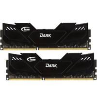 Team 8GB (2x4GB) 2666MHz DDR4 Overclocking Dark Series Gaming Ram Soğutuculu Dual-Channel Ram Kit (TM4D266642BLK)