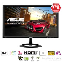 "Asus VX228H 21.5"" 1ms (Analog+2xHDMI) Full HD Led Monitör"