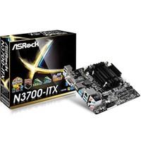 Asrock N3700-ITX Intel Quad Core N3700 1.6GHz DDR3 SATA3 6.0 Gb/s USB 3.0 Anakart (ASRN3700ITX)