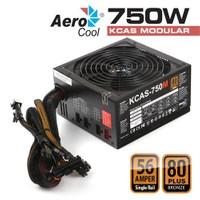 Aerocool KCAS 750W 80+ Bronze Aktif PFC Güç Kaynağı (AE-KCAS750M)