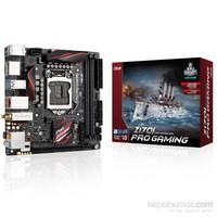 Asus Z170I PRO GAMING Intel Z170 3400MHz(OC) DDR4 Soket 1151 mITX Anakart