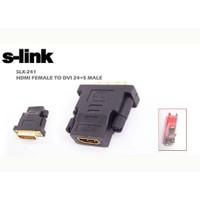 S-Link Slx-241 S-Lınk Hdmı-Dvı Dönüştürücü Hdmı Dişi Dvı 24+5 Erkek