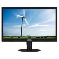 "Philips 241S4LCB/00 24"" 5 ms (Analog+DVI-D) Full HD Led Monitör"