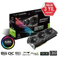 Asus ROG STRIX Nvidia GeForce GTX 1070 OC 8GB 256Bit GDDR5 (DX12) PCI-E 3.0 Ekran Kartı (STRIX-GTX1070-O8G-GAMING)