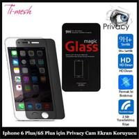 Ti-Mesh Iphone 6 Plus/6S Plus İçin Privacy Cam Ekran Koruyucu