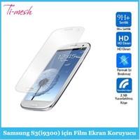 Ti-Mesh Samsung S3(İ9300) İçin Film Ekran Koruyucu