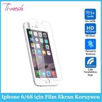 Ti-Mesh Iphone 6/6S İçin Film Ekran Koruyucu
