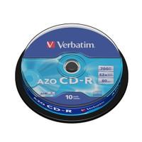 Verbatim CD-R 700MB 80 Dakika 52X Hızında 10'lu Cakebox 43429