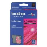 Brother LC67HYM Kırmızı Kartuş