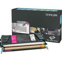 Lexmark C5240MH 5000 Sayfa Kapasiteli Kırmızı Toner