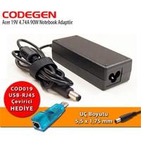 Codegen Acer 19V 4.74A 90W Notebook Adaptör