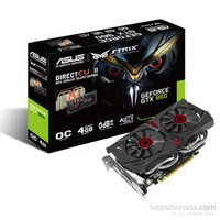 Asus Nvidia GeForce GTX 960 4GB OC 128Bit GDDR5 (DX12) PCI-E 3.0 Ekran Kartı (STRIX-GTX960-DC2OC-4GD5)