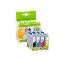 Prıntpen Epson T0711 T0712 T0713 T0714 Muadil Kartuş Seti