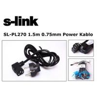 S-Link Sl-Pl270 1.5M 0.75Mm Power Kablo