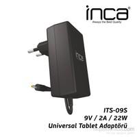 Inca ITS-09S 2.5mm 9V 2A Siyah Tablet Şarj Adaptörü