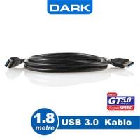 Dark USB 3.0 1.8m USB to USB Bağlantı Kablosu (DK-CB-USB3AL180)