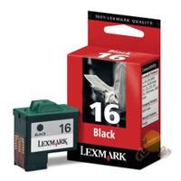 Lexmark 16 Siyah Kartuş 010N0016E