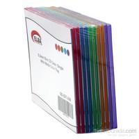 Elba Qd-521.03B 1Li Renkli 5,2Mm Slim Cd Case