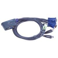Aten Cs62us 2Pc-1Mn Usb Kvm Switch