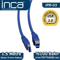 Inca USB 3.0 1,5m Yazıcı Kablosu (Blister) IPR-03