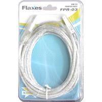 Flaxes FPR-03 USB 2.0 3m %100 Bakır Blister Kutu Askılı Yazıcı Kablo