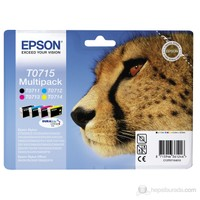 Epson C13T07154010 / T0715 Multipack 4 Renk Mürekkep Kartuş