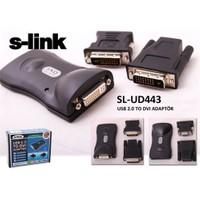 S-Link Sl-Ud443 Usb To Dvı+Vga Adaptör