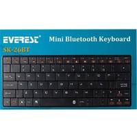 Everest kb-BT026 Siyah Bluetooth Q Kablosuz Klavye