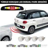 AutoCet Beyaz Sensörlü Türkçe Konuşan Park Sensörü 4216a