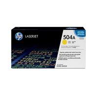 HP 504A 7000 Sayfa Kapasiteli Sarı Toner CE252A