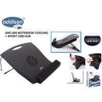 Addison ANC-926 Notebook Soğutucu + 4Port USB Hub'lı